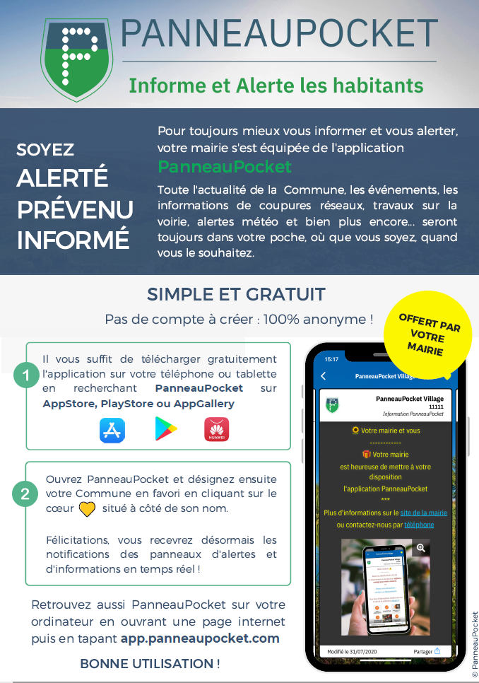Nouveau : Application d'information à St Martin
