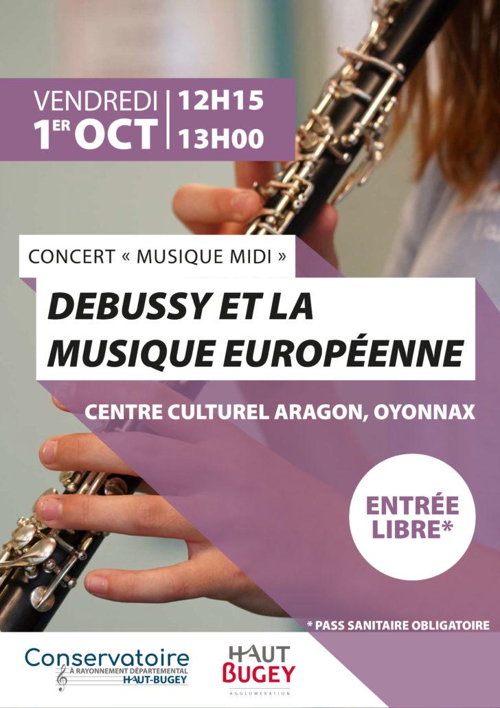 Debussy à l'espace Aragon
