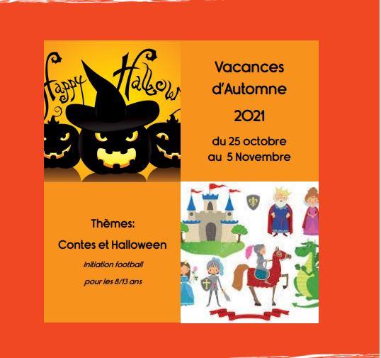 Programmes ALFA3A vacances d'Automne - cliquez sur l'image